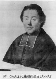 Portrait dessiné de C. Chaubier de Larnay