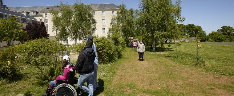 Promenade dans le parc du domaine de Larnay