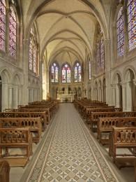 Nef de la chapelle de Larnay