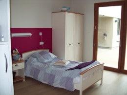 Chambre d'un résident