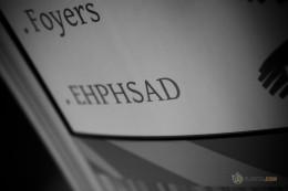 Panneau interne indiquant l'EHPHSAD