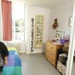 Chambre d'une résidente du foyer