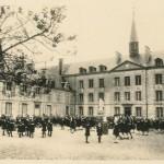 Photo ancienne de la cour