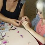 Confection de bijoux à Larnay