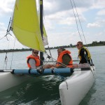 Tour en bateau sur le lac de Saint Cyr