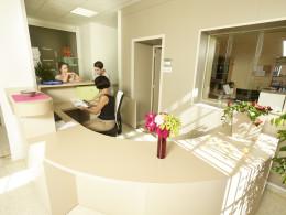 Bureau d'accueil à Larnay Sagesse