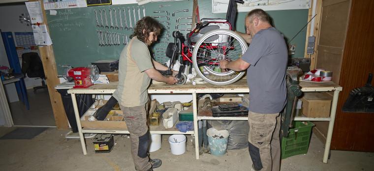 Atelier de maintenance